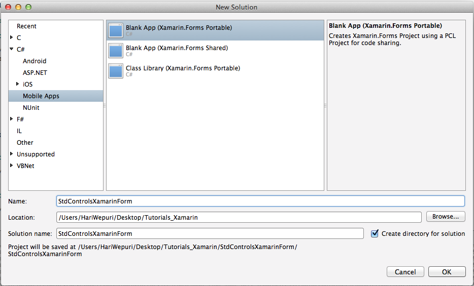 How to use Label,Button and Image in Xamarin Forms | Mobilewits