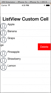 How to handle Row selection and delete Button in Row For Custom